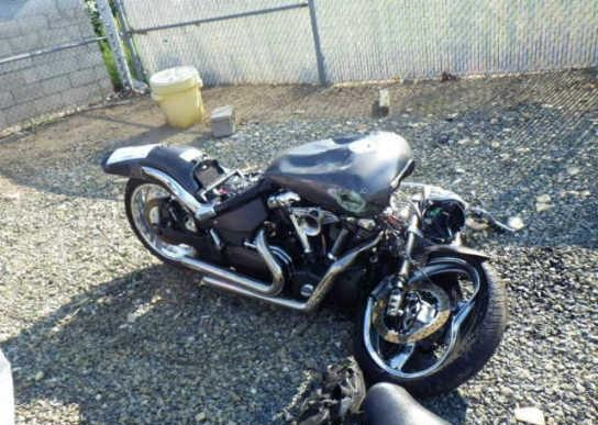 02 Yamaha Road Star Warrior XV1700 Rear Fender