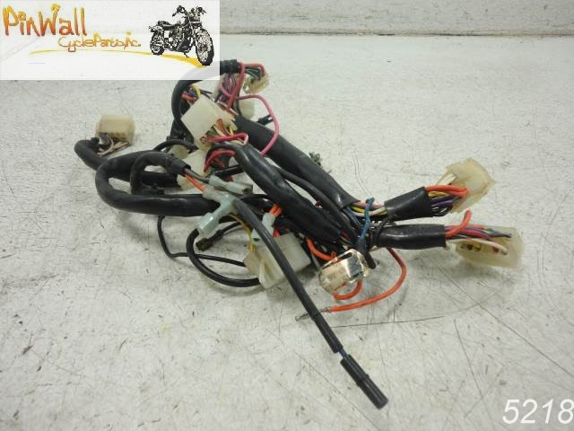 Used 1990 Harley Davidson Touring Front Wire Harness Fairing Interconnect Flh: Harley Flh Wire Harness At Outingpk.com