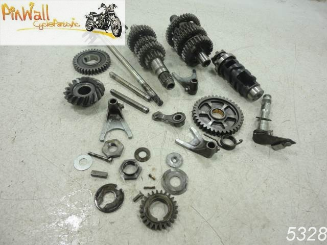 Image Is Loading 93 Yamaha Virago XV535 535 TRANSMISSION GEARS