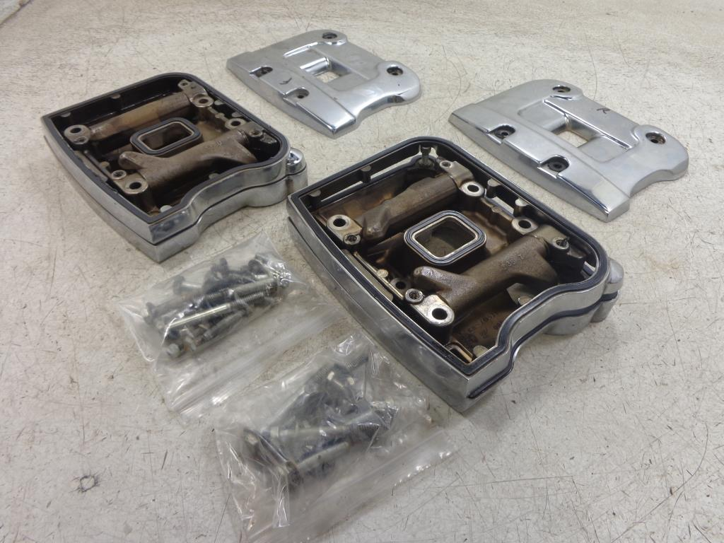 Details about 84-91 Harley Davidson EVO EVOLUTION ENGINE ROCKER COVER  SPACER Dyna Softail FLH