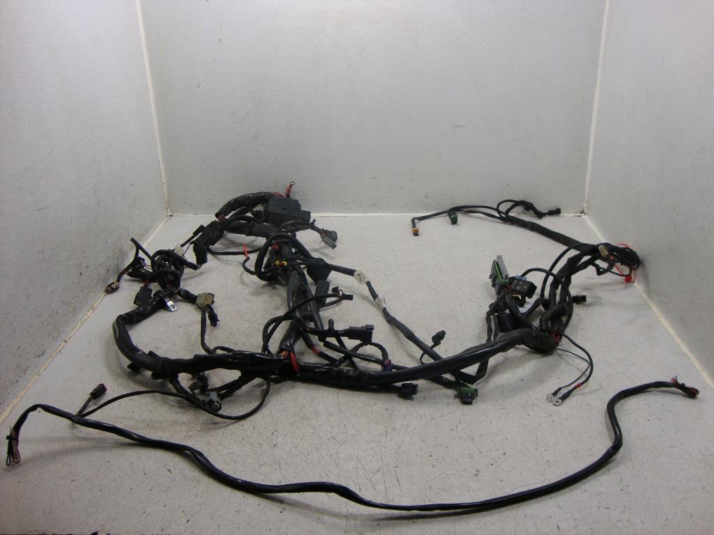 2000 flstf harley davidson wiring diagram harley davidson wiring harness accessory 2007 harley davidson flhp road king police main wire ... #7