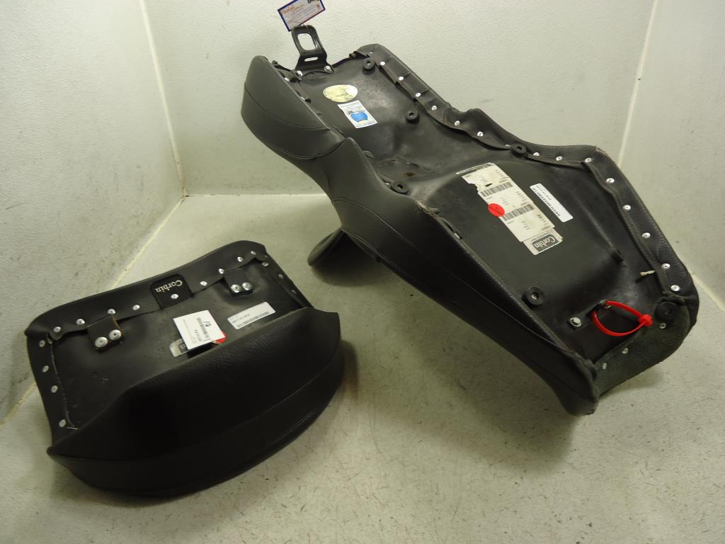 honda valkyrie gl interstate corbin dual touring seat saddle backrest trunk ebay