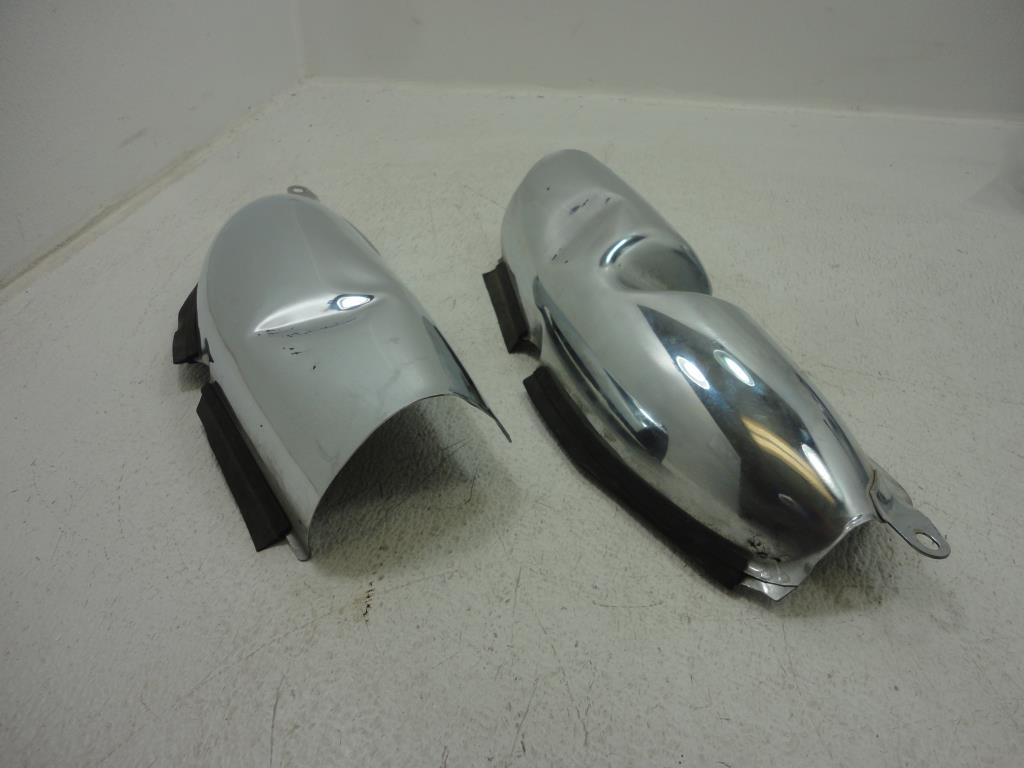 Pinwall Cycle Parts Inc Your One Stop Motorcycle Shop For Used 2003 Honda Goldwing Gl1800 Abs Gold Wing Heat Shield Both Dented And Have A Few Minor Scratches