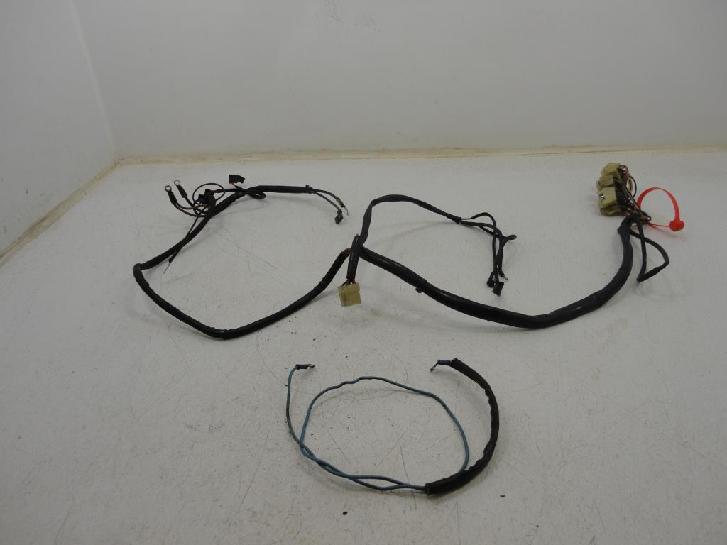 300w led wiring harness in 3m length relay switch button motorcycle wiring harness 1989 1990 harley davidson flstf softail fatboy main wire ... fatboy wiring harness #14
