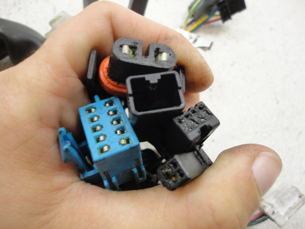 2005 2007 Victory Vegas Kingpin Ness Eight Ball Main Wire Wiring Custom Harness Part 6738 05 0001