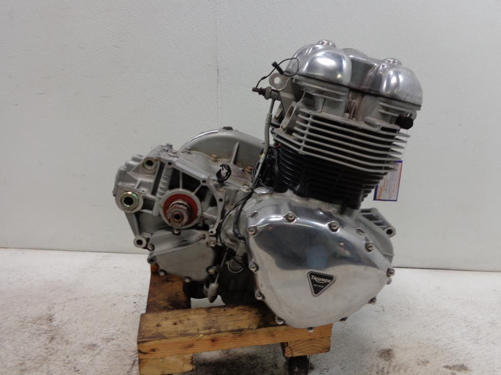 Details about 2001-2008 Triumph ENGINE MOTOR TRANSMISSION Bonneville T100  CARB MODELS
