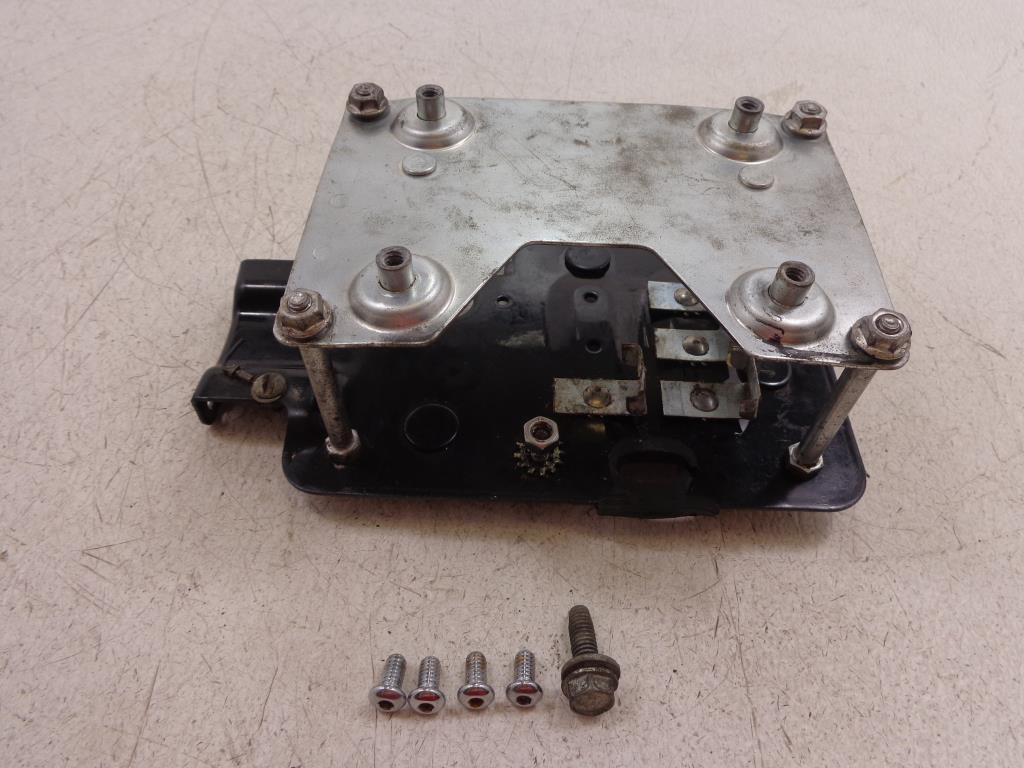 HARLEY DAVIDSON  DYNA Electrical Battery Panel Cover Black 13569-06