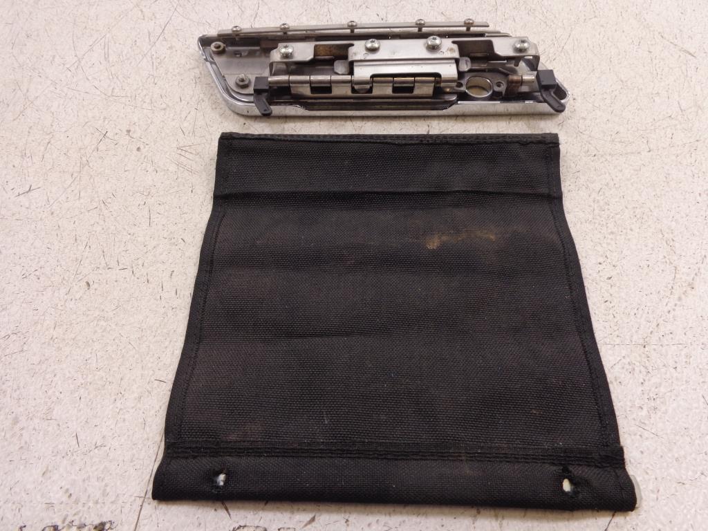 93-13 harley davidson saddlebag latch face plate mounting bracket