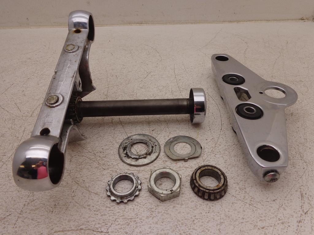 Chrome Air Cleaner Bracket Harley 1993-2005 Dyna Wide Glide FXDWG